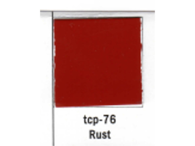 tup076 A Railroad Color Acrylic Paint 1oz 29.6ml -- Rust