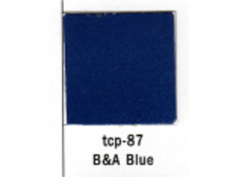 tup087 A Railroad Color Acrylic Paint 1oz 29.6ml -- Bangor & Aroostook Blue