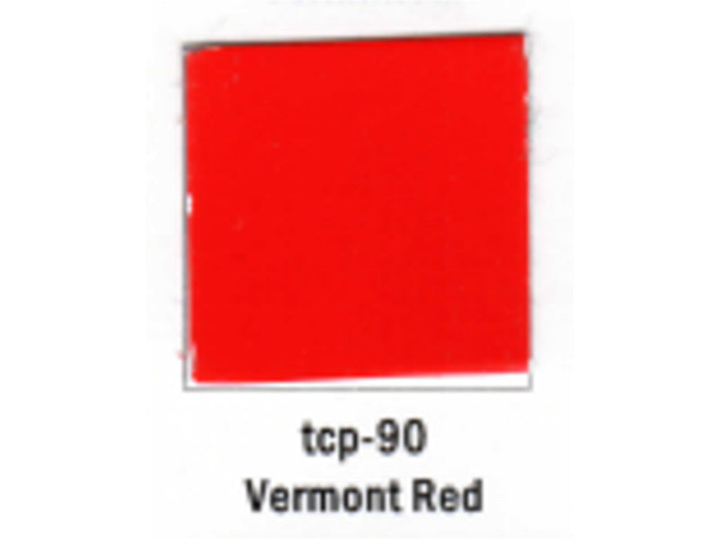 tup090 A Railroad Color Acrylic Paint 1oz 29.6ml -- Vermont Red