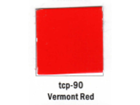 A Railroad Color Acrylic Paint 1oz 29.6ml -- Vermont Red
