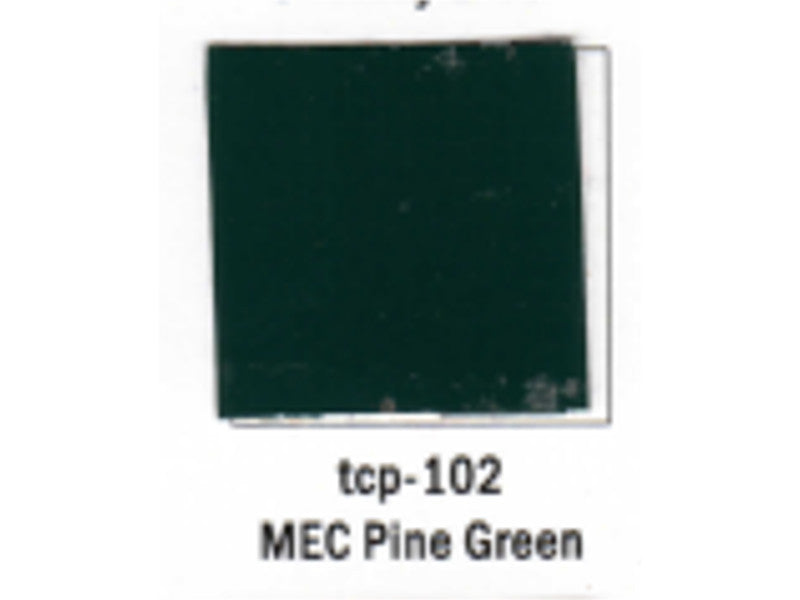 tup102 A Railroad Color Acrylic Paint 1oz 29.6ml -- Maine Central Pine Green