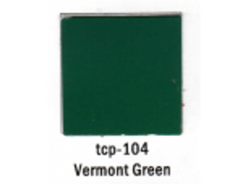 tup104 A Railroad Color Acrylic Paint 1oz 29.6ml -- Vermont Green
