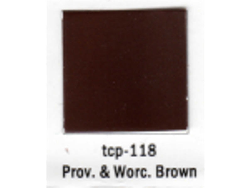 tup118 A Railroad Color Acrylic Paint 1oz 29.6ml -- Providence & Worcester Brown