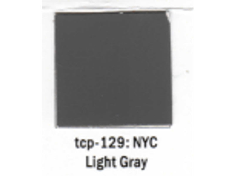 tup129 A Railroad Color Acrylic Paint 1oz 29.6ml -- New York Central Light Gray