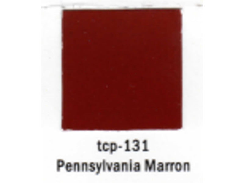 tup131 A Railroad Color Acrylic Paint 1oz 29.6ml -- Pennsylvania Railroad Maroon