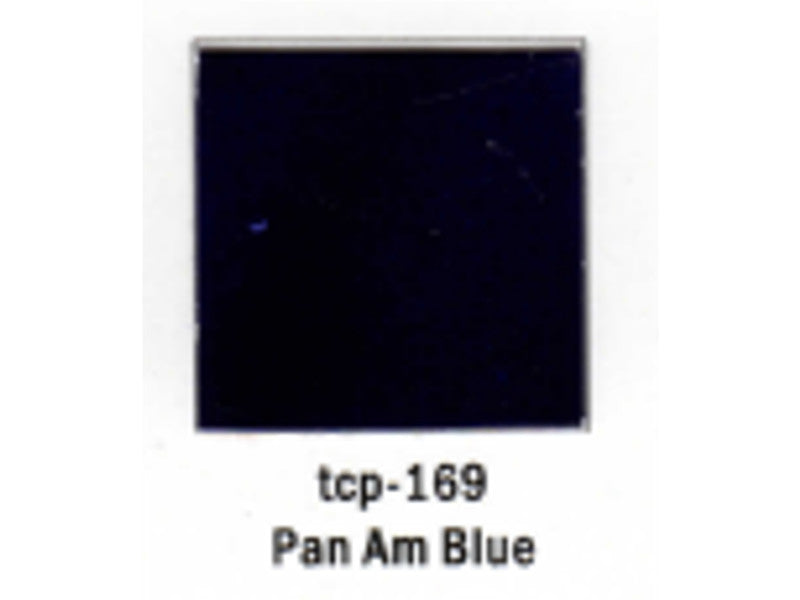 tup169 A Railroad Color Acrylic Paint 1oz 29.6ml -- Pan Am Railways Blue