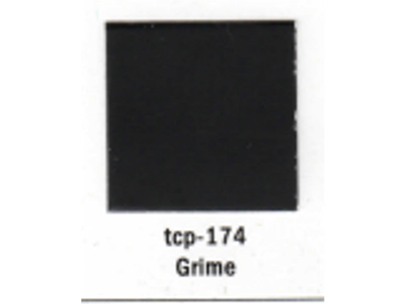tup174 A Railroad Color Acrylic Paint 1oz 29.6ml -- Grime (Flat)