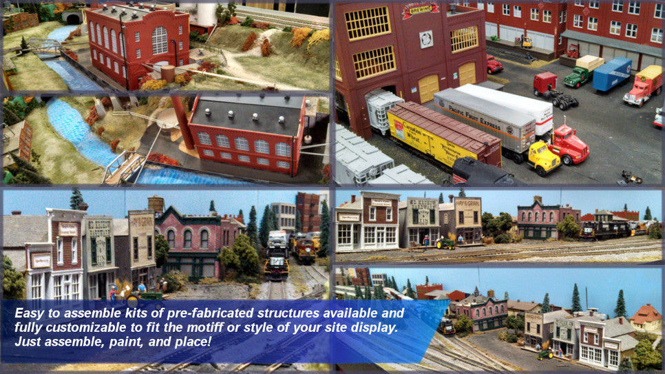 Model Trains Structures
