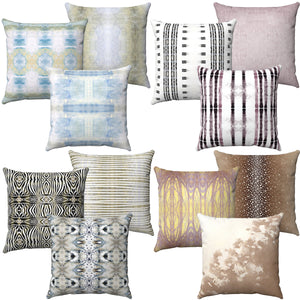 Designer Pillows ~ Faux Suede