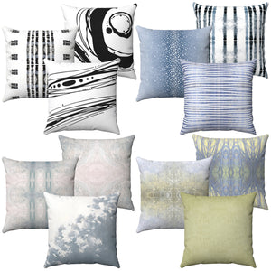 Designer Pillows ~ Spun Polyester