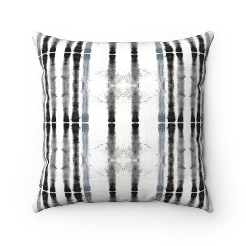Lifeline ~ Grey ~ Spun Polyester Square Pillow