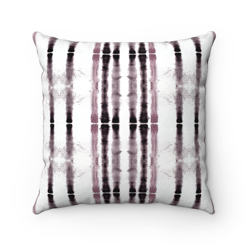 Lifeline ~ Rose ~ Faux Suede Square Pillow