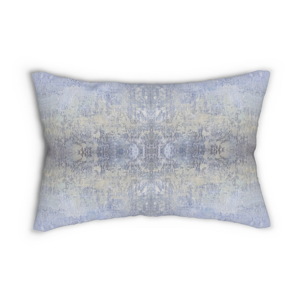 Spaces/Open ~ Sky ~ Spun Polyester Lumbar Pillow