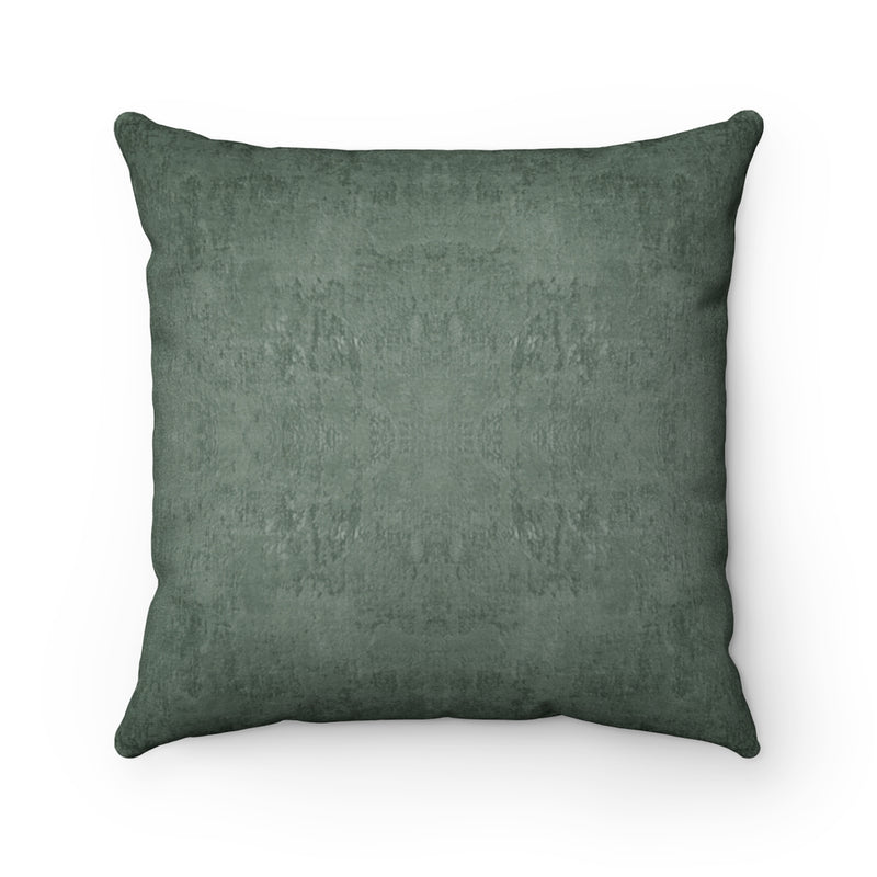 Watermark ~ Forest ~ Faux Suede Square Pillow