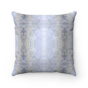 Spaces/Between ~ Sky ~ Faux Suede Square Pillow