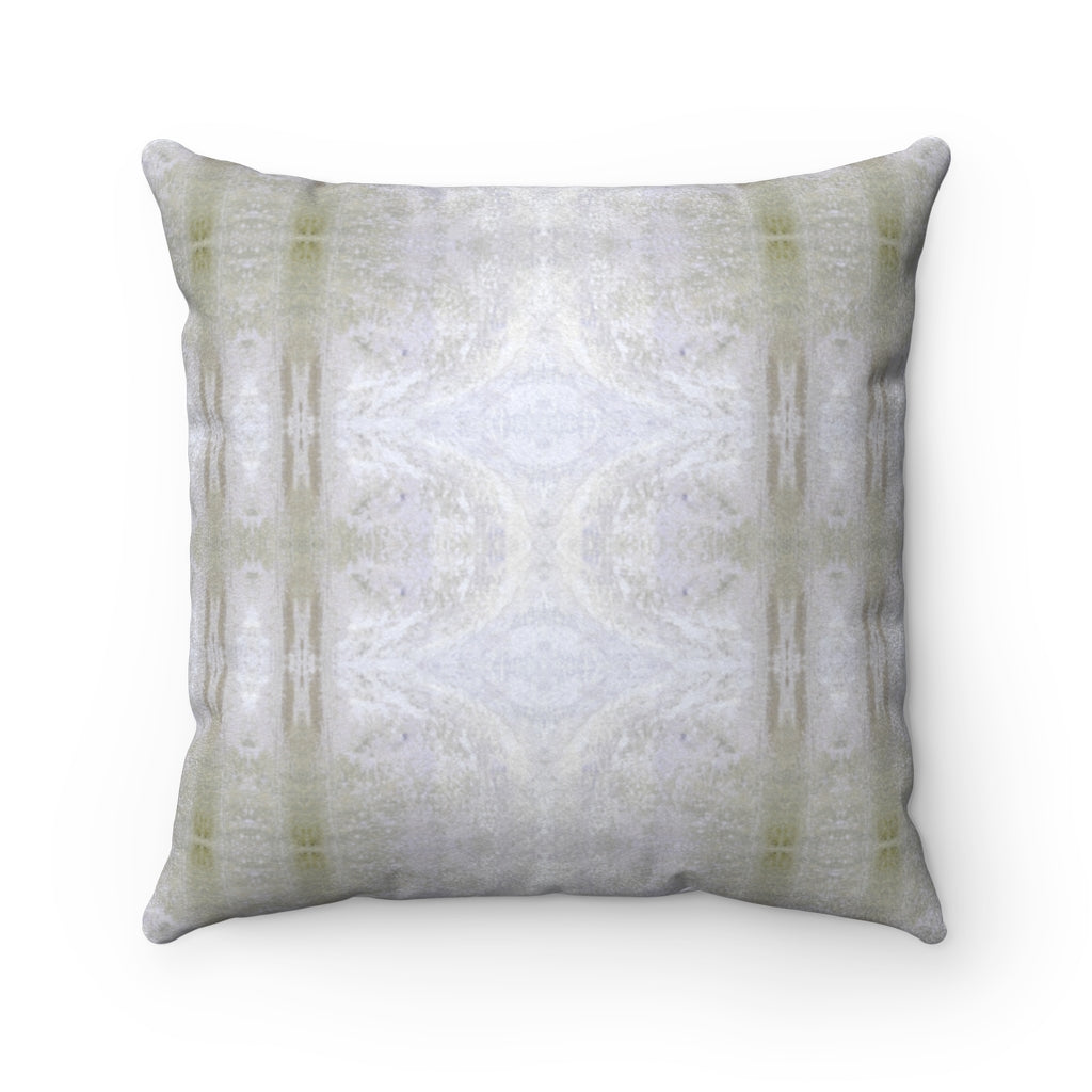 Aquarius/Reef ~ Spindrift ~ Faux Suede Square Pillow