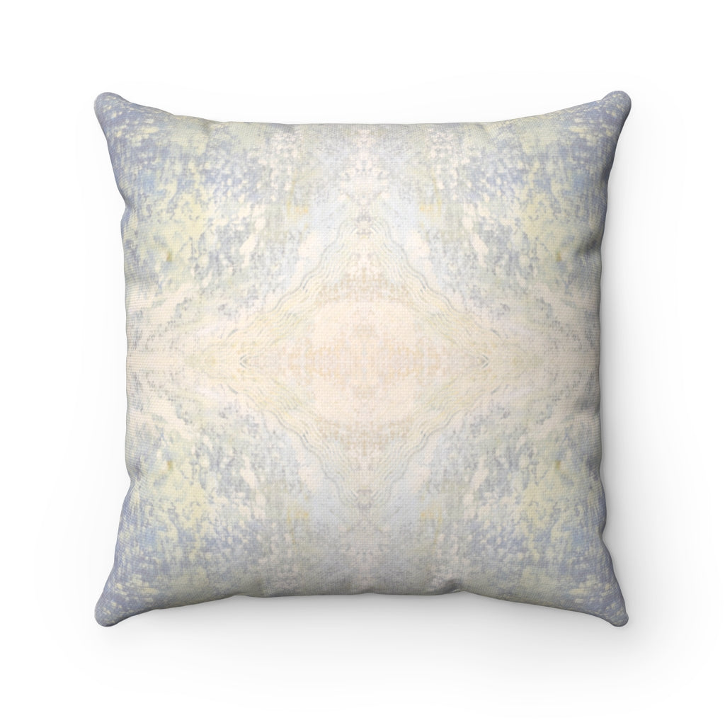 Aquarius/Diadem ~ Ocean ~ Spun Polyester Square Pillow