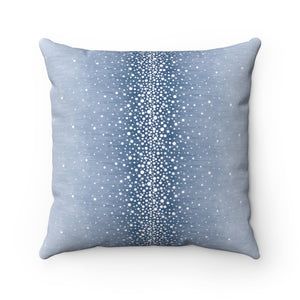 Rain ~ Sky ~ Spun Polyester Square Pillow