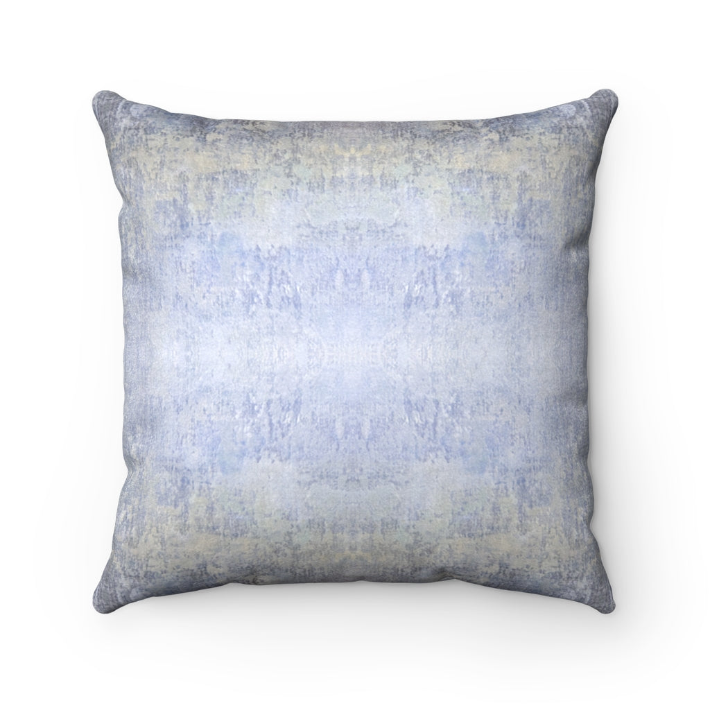 Spaces/Beyond ~ Sky ~ Faux Suede Square Pillow