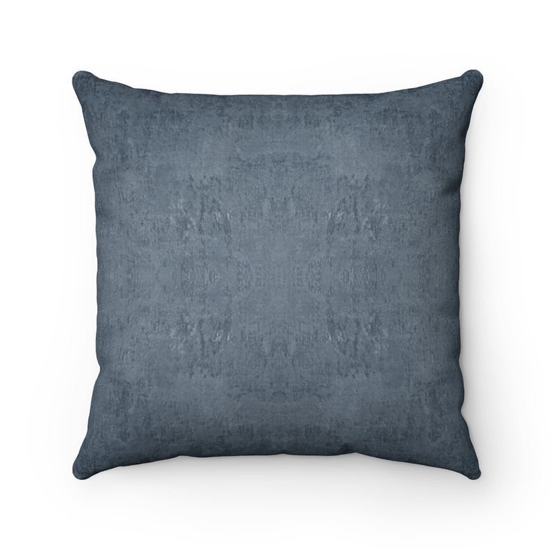 Watermark ~ Ocean ~ Faux Suede Square Pillow