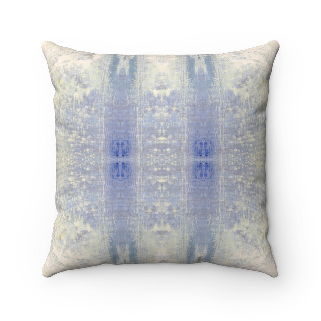 Aquarius/Coral ~ Ocean ~ Spun Polyester Square Pillow