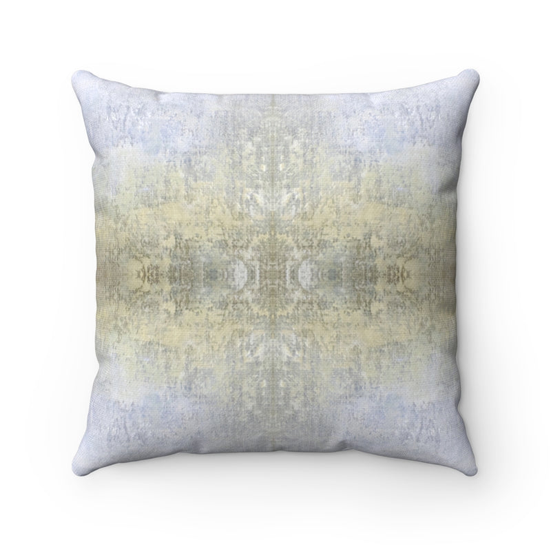 Spaces/Open ~ Sand ~ Spun Polyester Square Pillow