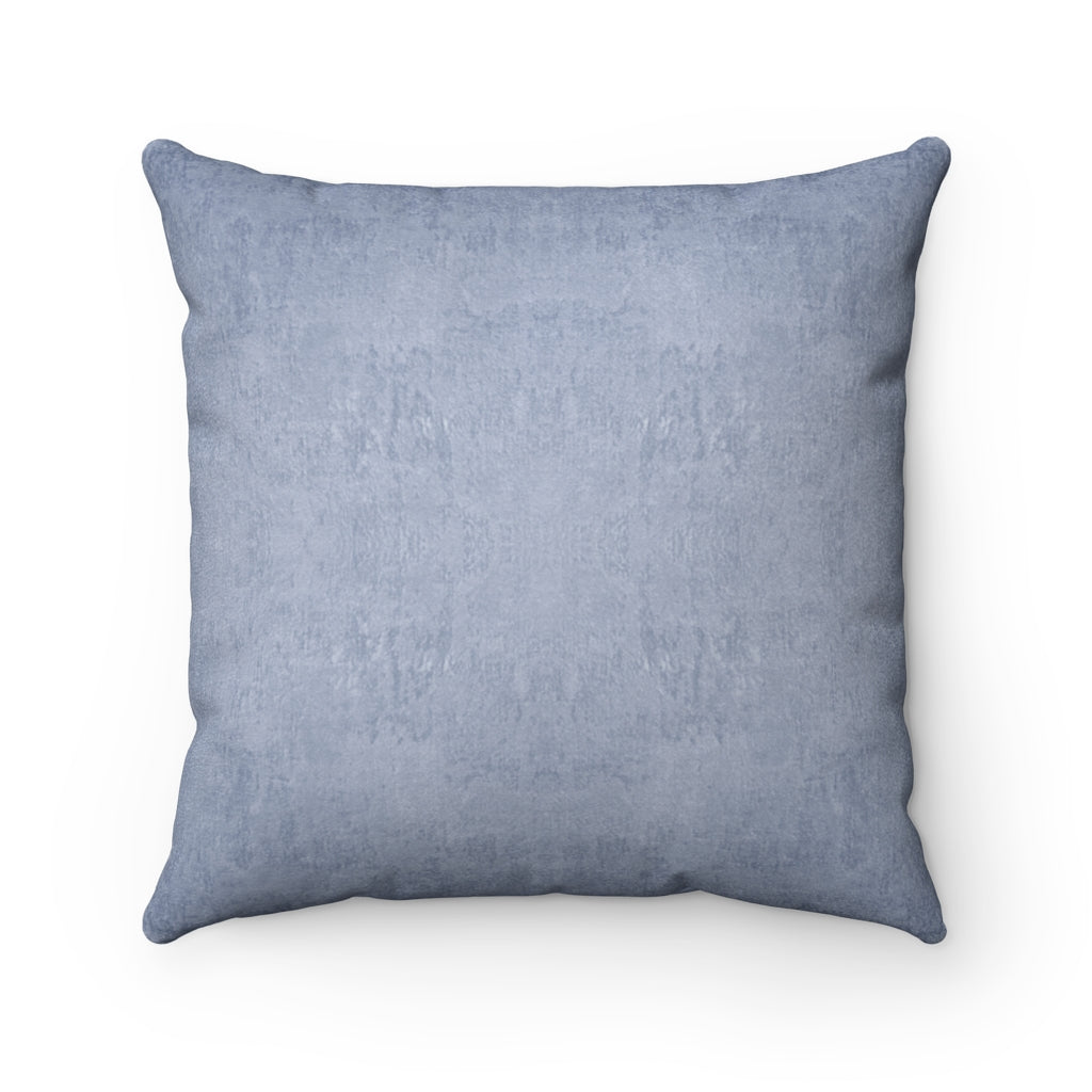 Watermark ~ Sky ~ Faux Suede Square Pillow