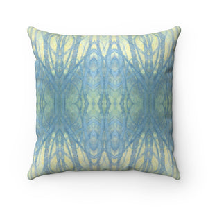 Into The Woods ~ Spring ~ Faux Suede Square Pillow