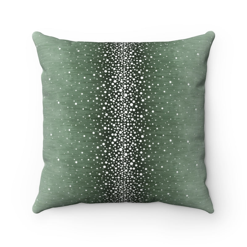 Rain ~ Forest ~ Spun Polyester Square Pillow