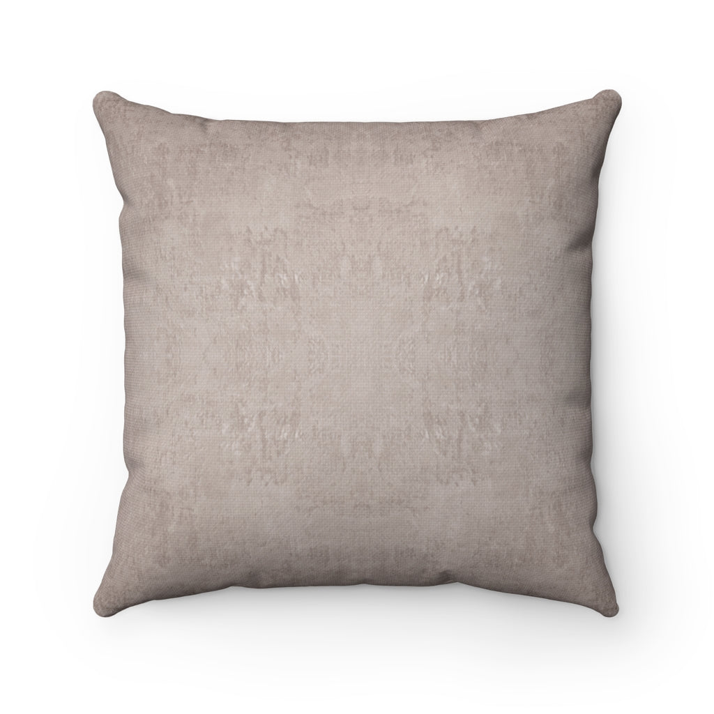 Watermark ~ Shell ~ Spun Polyester Square Pillow