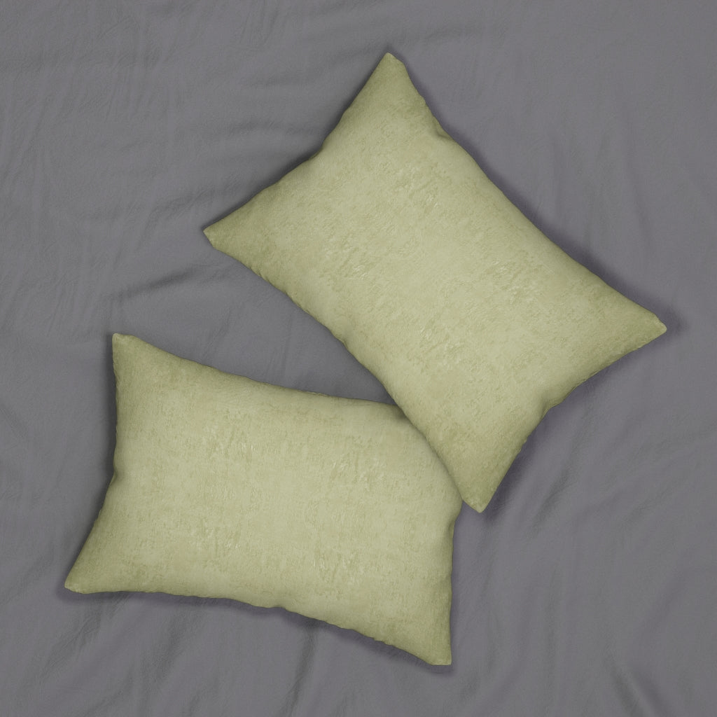 Watermark ~ Lemon ~ Spun Polyester Lumbar Pillow