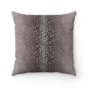Rain ~ Grape ~ Faux Suede Square Pillow