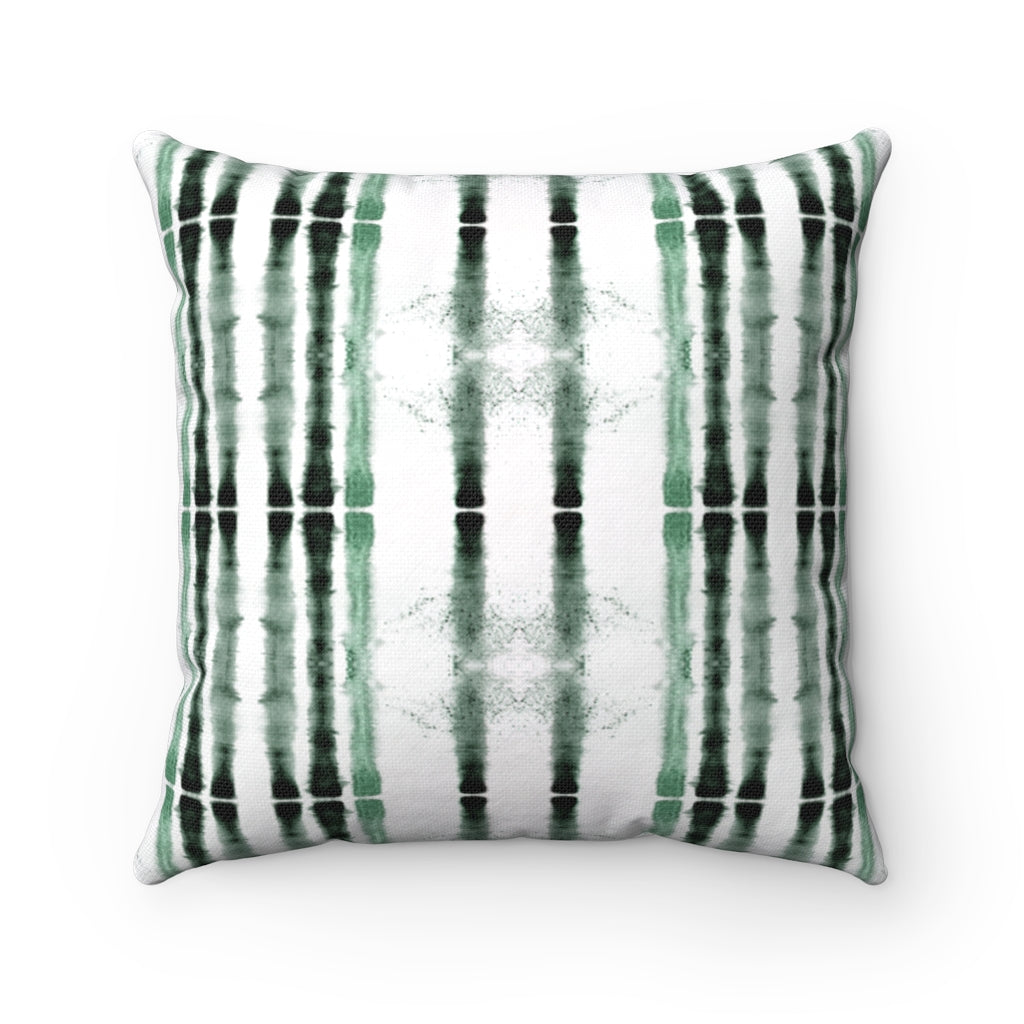 Lifeline ~ Sea Glass ~ Spun Polyester Square Pillow