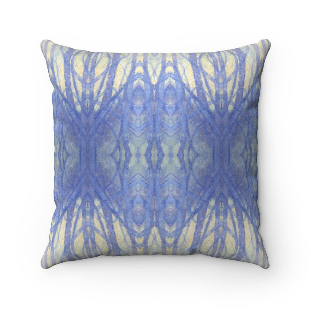 Into The Woods ~ Winter ~ Faux Suede Square Pillow