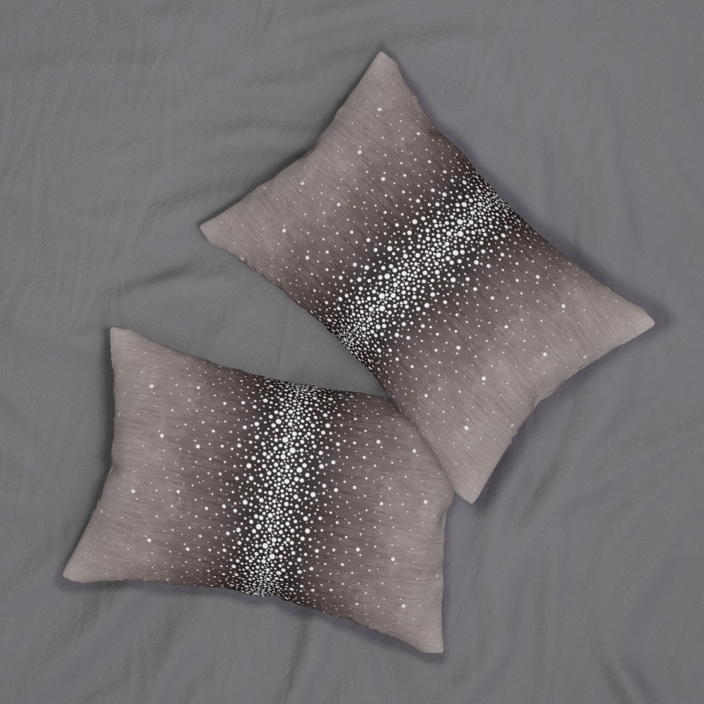 Rain ~ Grape ~ Spun Polyester Lumbar Pillow