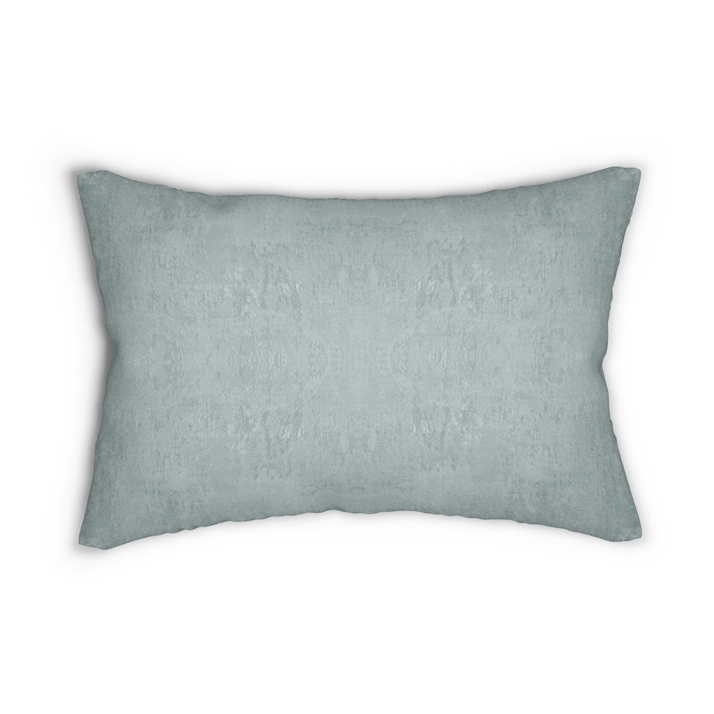 Watermark ~ Sea Glass ~ Spun Polyester Lumbar Pillow