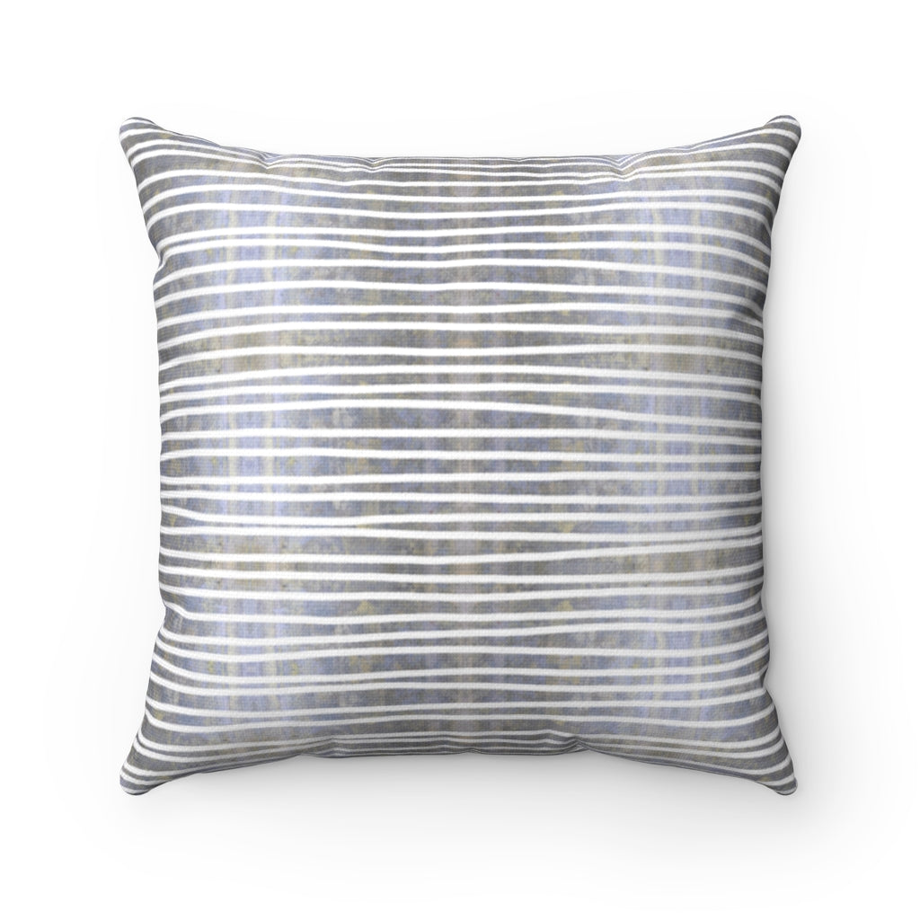 Aligned ~ Memory ~ Spun Polyester Square Pillow