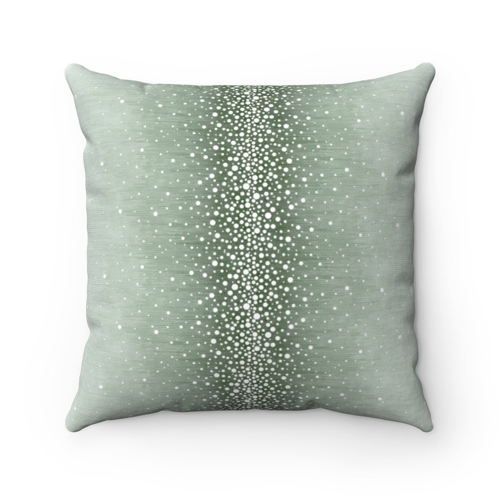 Rain ~ Ice ~ Spun Polyester Square Pillow