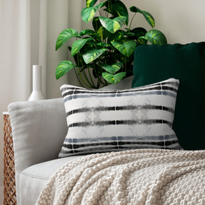 Lifeline ~ Grey ~ Spun Polyester Lumbar Pillow