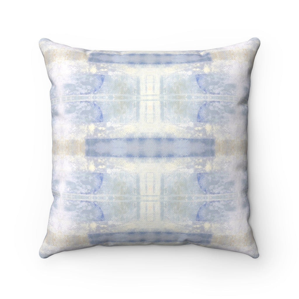 Aquarius/Delta ~ Ocean ~ Spun Polyester Square Pillow