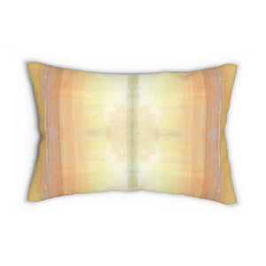 When ~ Sunlight ~ Spun Polyester Lumbar Pillow