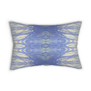 Into the Woods ~ Winter ~ Spun Polyester Lumbar Pillow