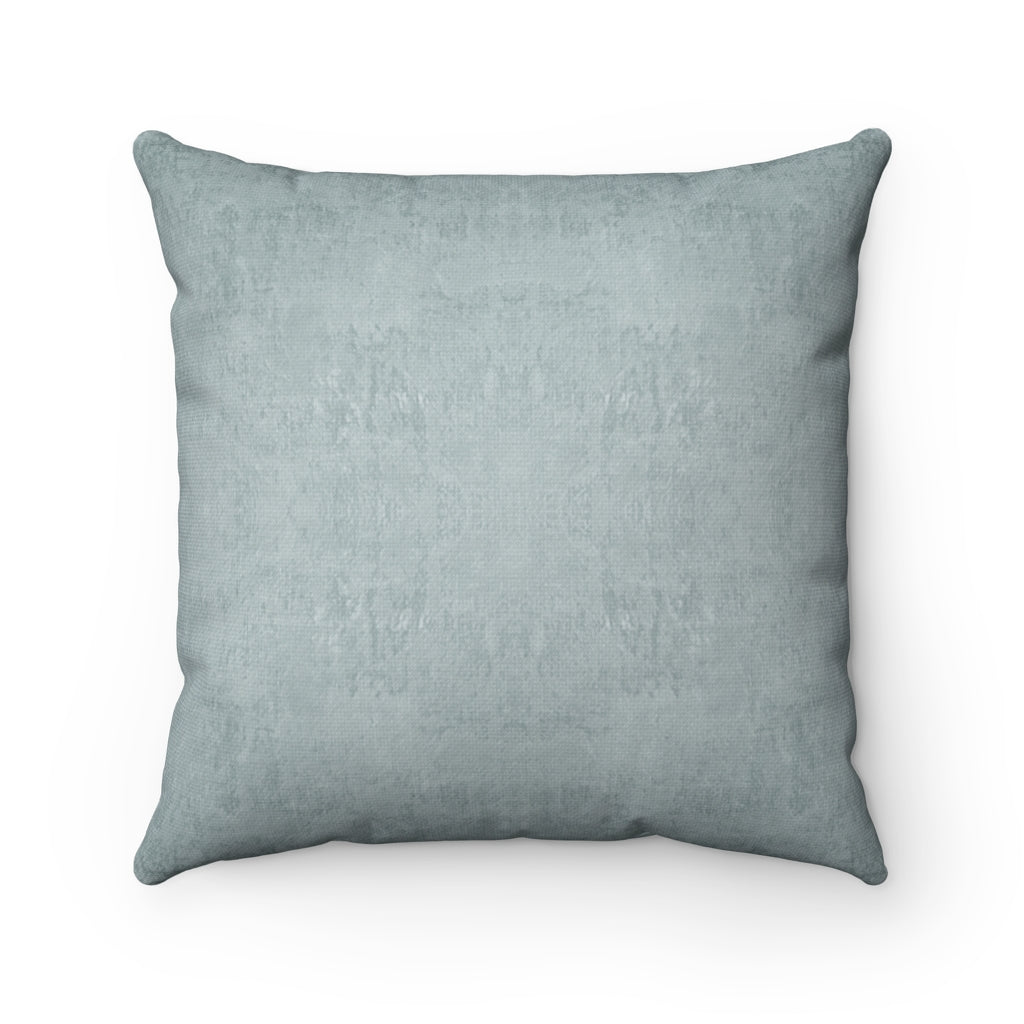 Watermark ~ Sea Glass ~ Spun Polyester Square Pillow
