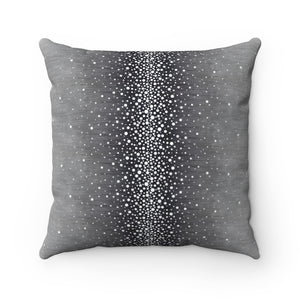 Rain ~ Mist ~ Faux Suede Square Pillow