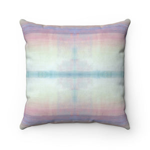 When ~ Sunrise ~ Spun Polyester Square Pillow