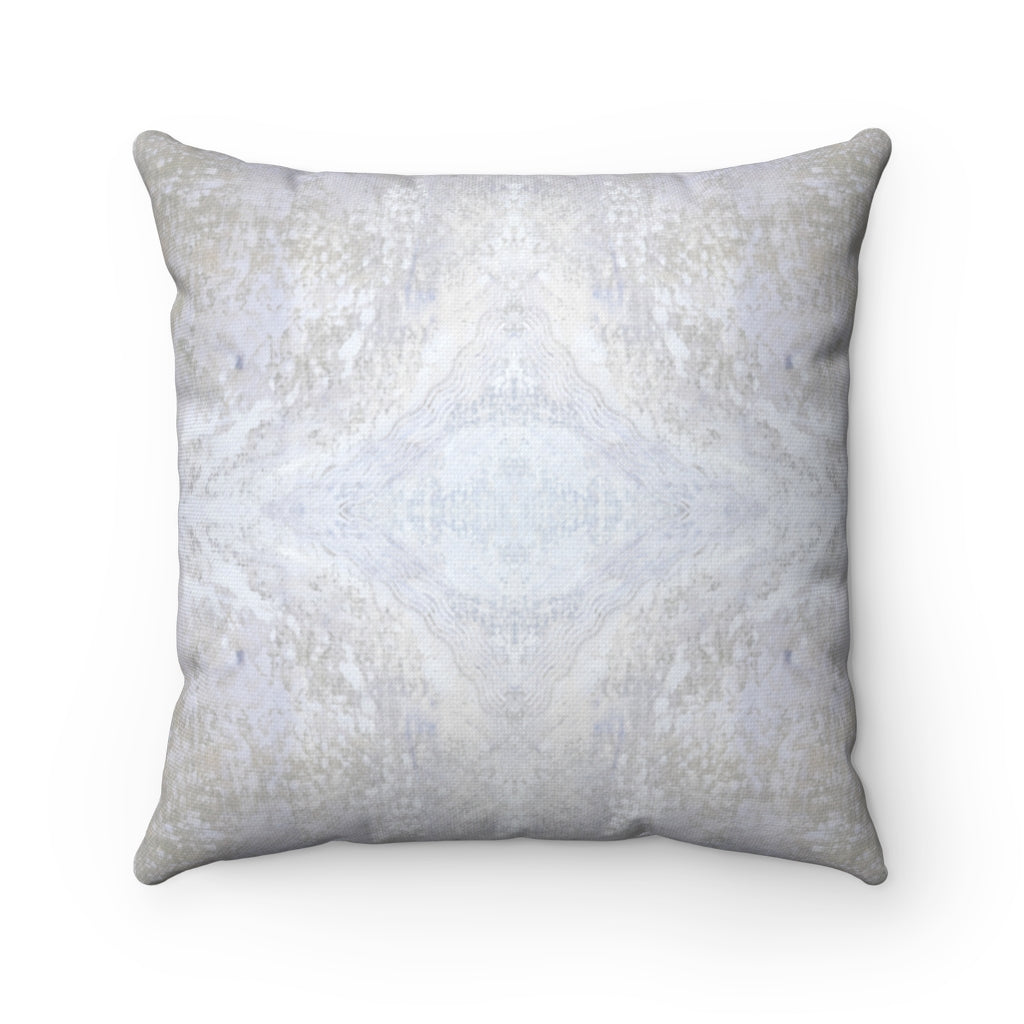 Aquarius/Diadem ~ Spindrift ~ Spun Polyester Square Pillow