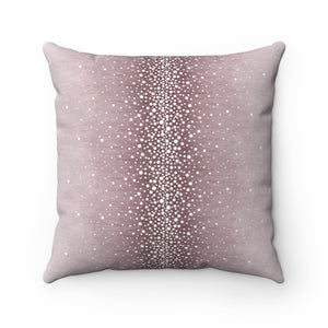 Rain ~ Rose ~ Spun Polyester Square Pillow