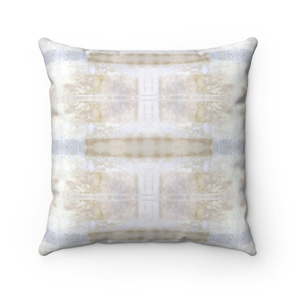 Aquarius/Delta ~ Spindrift ~ Spun Polyester Square Pillow
