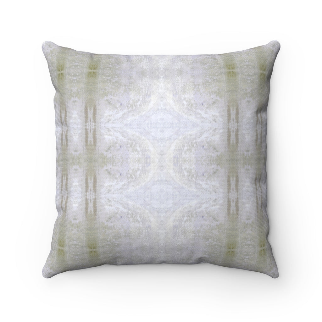 Aquarius/Reef ~ Spindrift ~ Spun Polyester Square Pillow