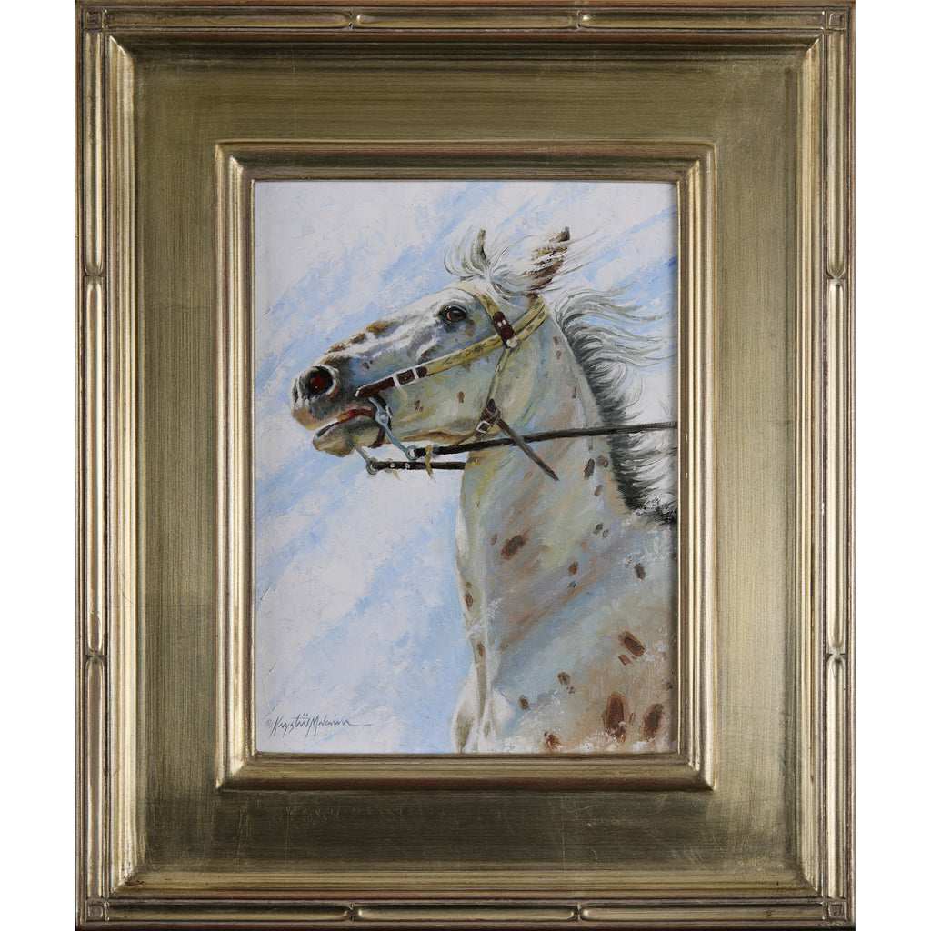 "SOLD Appaloosa 12"" x 9"" - American Miniatures"